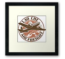 Lao Che Air Freight Framed Print