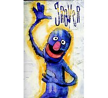 I am grover Photographic Print