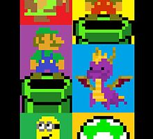 Pixel Madness! by legendofgaming