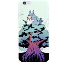 Totoro on Tree iPhone Case/Skin