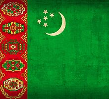 Turkmenistan Flag by flaglover