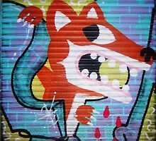 Fox by StreetArtCinema