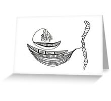 Lazy Afternoon Seed Boats Greeting Card