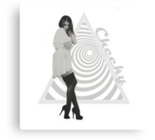 Hypno Girl Canvas Print