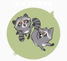 Racoons by falloutmuse696