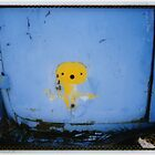 yellow dog by Jill Auville