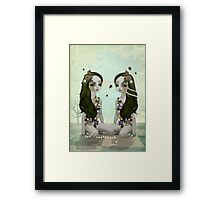 Bumble Bees & Daisy Chains Framed Print