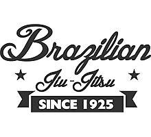 Vintage Brazilian Jiu_Jitsu Since 1925 Photographic Print