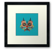 A Legendary Mask Framed Print