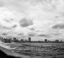 Malecon in Havanna, Cuba by Klaus Offermann