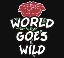 "Adam Rose ""World Goes Wild"" Shirt by ohsnapvince"