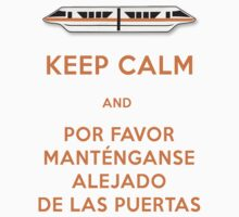 Monorail- Keep Calm (Orange) by Margybear
