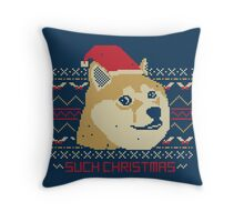 Such Christmas! Throw Pillow