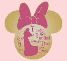 Princess Aurora Sleeping Beauty inside Minnie silhouette  by sweetsisters