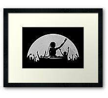 Full Moon Party Framed Print