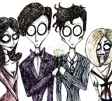 Tim Burton's Doctor Who by Hannah Chusid
