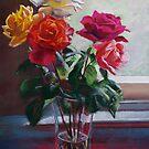 Roses by the Window by Lynda Robinson