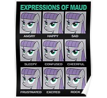 Expressions of Maud Tshirt Poster