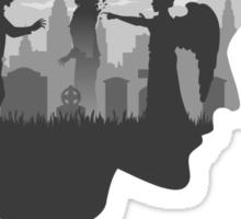 Goodbye Raggedy Man (Alternate) Sticker