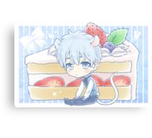 Mouse Kuroko and Strawberry Shortcake Canvas Print
