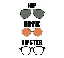 Hip Hippie Hipster Photographic Print