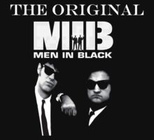 The Blues Brothers: Original MIB by pandagoo