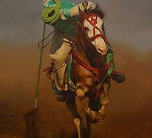 Indian horseman by William  Stanfield