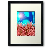 Pure Abstract Framed Print