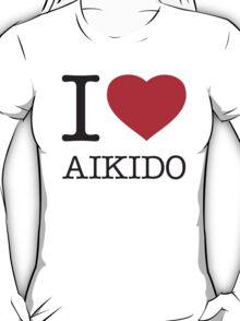 I ♥ AIKIDO T-Shirt