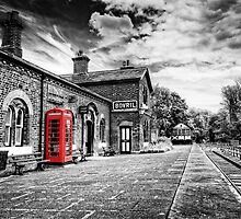 Hadlow Road Railway Station by Dave Guy