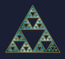 Sierpinski, Triangle, Mathematics, Fractal, Math, Geometry Kids Clothes