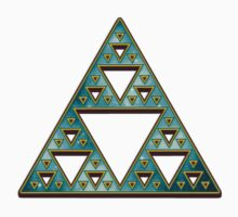 Sierpinski, Triangle, Mathematics, Fractal, Math, Geometry by nitty-gritty