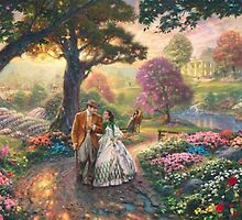 Thomas Kinkade Gone With The Wind Cross Stitch Pattern***L@@K*** by JAYLM2006