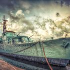 HMS Cavalier at Chatham Dockyard by Art Hakker Photography