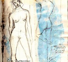 Sketchbook Figure Studies by zaraimpressions