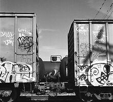Los Angeles River by PonyBlack