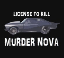 License to Kill - Murder Nova WHITE by Mcflytrek