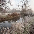 River Brett in Suffolk by Christopher Cullen