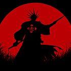 Red Moon Kenpachi by epyongart