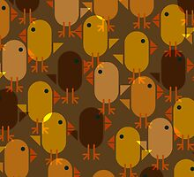 Easter Chicks repeating pattern by pygmycreative