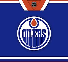 Edmonton Oilers Home Jersey Phone Case by Russ Jericho