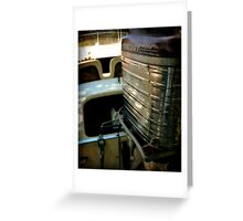 Classic and Chrome Greeting Card