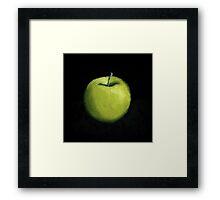 Green Apple Still Life Framed Print