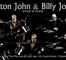 Elton John & Billy Joel by HellGateStudios