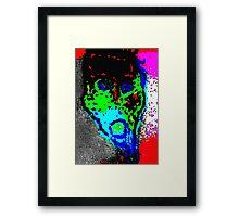 Head Framed Print