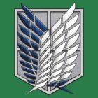Survey Corps wings by Fandominator