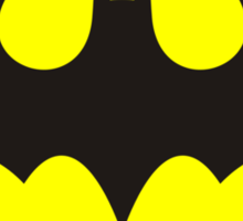 Batman Logo (Regular) Sticker