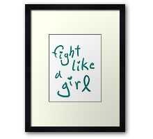 PCOS Awareness  Framed Print