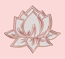 Lotus Flower Symbol Wisdom & Enlightenment Buddhism Zen Kids Clothes