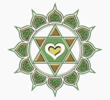 Anahata Heart Chakra Centre Of Love & Compassion by nitty-gritty